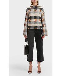 Missoni Gigi Wool-blend Knit Dress - Gray