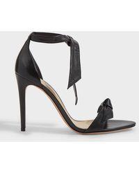 Alexandre Birman Clarita Tie-up Leather Sandals - Black