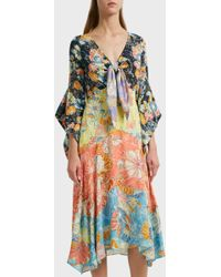 Peter Pilotto - Printed Dress, Size Uk10, Women - Lyst