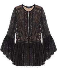 Elie Saab Lace Jacket - Black