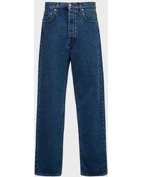 Nanushka Gannon Straight-leg Jeans - Blue