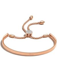Monica Vinader - Rp Fiji Diamond Toggle Bracelet - Diamond - Lyst
