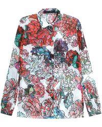 Elie Saab Floral Print Blouse - Multicolour