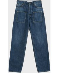 JW Anderson - Patch Pocket Jeans, Size Fr48, Men, Blue - Lyst