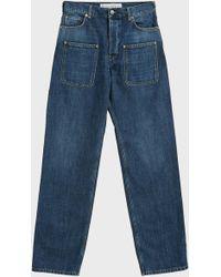 JW Anderson - Patch Pocket Jeans, Size Fr50, Men, Blue - Lyst