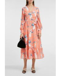 Borgo De Nor Ilaria Crepe Maxi Dress - Multicolor