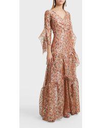 Peter Pilotto Printed Skirt - Brown