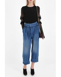 JW Anderson Pleated Front Jeans - Blue