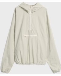 Yeezy Pull Over Crepe Jacket - Natural