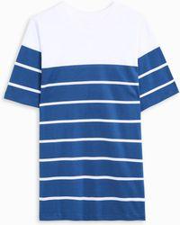 Acne Studios - Naples Striped Jersey T-shirt - Lyst