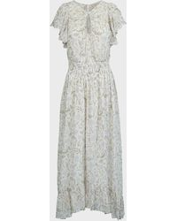 Rebecca Taylor Zadie Fleur Smocked Dress - Multicolour