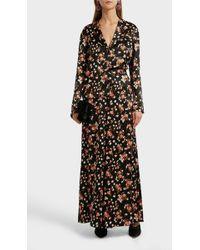 A.L.C. Seton Floral Print Trousers - Black