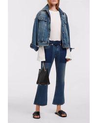 Maison Margiela Stone Wash Flared Jeans - Blue
