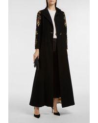 Elizabeth and James | Katelyn Sequin-embellished Embroidered Felt Coat | Lyst