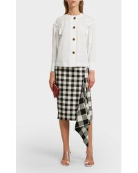 Rejina Pyo Sienna Cotton-blend Shirt - White