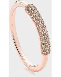 Monica Vinader Stellar Diamond Stacking Ring - Multicolour