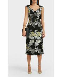 Erdem Gretchen Dress - Black
