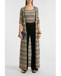Missoni Striped Crochet-knit Cardigan - Multicolor