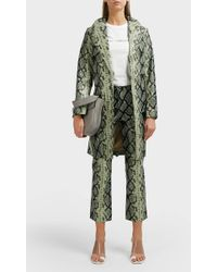 Miaou - Carmen Leather Trench Coat - Lyst