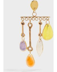Sonia Boyajian - Wind Chime Gold-tone Ceramic Earring - Lyst