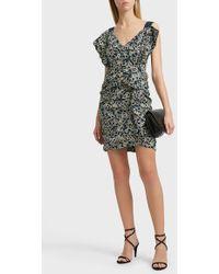 Étoile Isabel Marant - Topaz Printed Linen Dress - Lyst