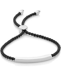 Monica Vinader - Linear Friendship Bracelet - Lyst