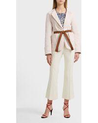 Isabel Marant Leona Layered Cotton Jacket - Multicolour