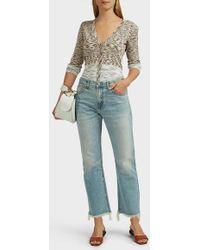 Missoni Knit Long Sleeve Cotton Cardigan - Multicolour