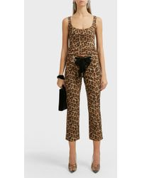 Miaou Tommy Leopard-print Jeans - Multicolour