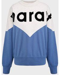 Étoile Isabel Marant Houston Colour-block Sweater - Blue