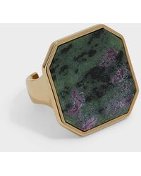 Isabel Marant Stone-embellished Ring - Multicolour