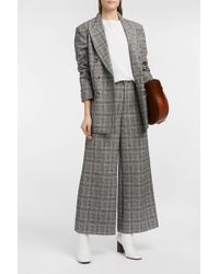 Isabel Marant - Trevi Prince Of Wales Checked Tweed Trousers - Lyst