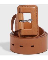 Maison Vaincourt - Leather Buckle Belt - Lyst