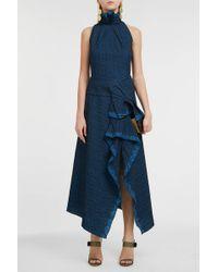 Roland Mouret - Adler Asymmetric Dress - Lyst