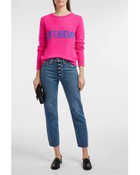 Alberta Ferretti - Monday Wool & Cashmere Sweater - Lyst