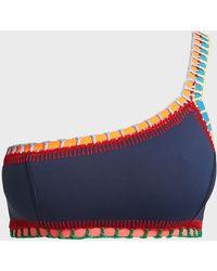 KIINI - Tasmin One-shoulder Bikini Top - Lyst