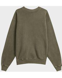 Yeezy Oversized Cotton Jumper - Green