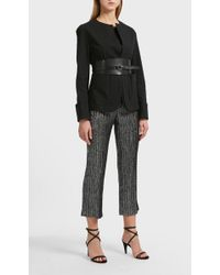 Isabel Marant Leona Layered Cotton Jacket - Black