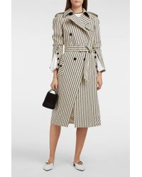 Altuzarra Fulton Printed Cotton-gabardine Trench Coat - Multicolour