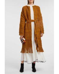 Ulla Johnson - Amara Fringed Crocheted Cotton Coat - Lyst