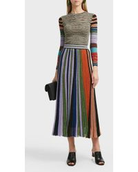 Missoni Striped Lurex Top - Blue
