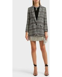 Étoile Isabel Marant - Ice Checked Tweed Blazer - Lyst