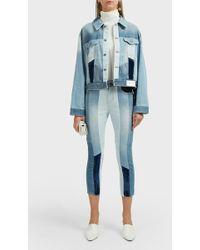 SJYP - Multi-tone Straight Jeans - Lyst