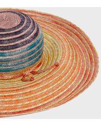 Missoni - Striped Straw Hat - Lyst