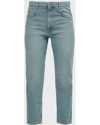 Étoile Isabel Marant Neaj Cropped Jeans - Blue