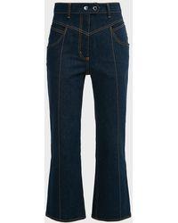 Ellery Eureka High-waisted Flared Jeans - Blue