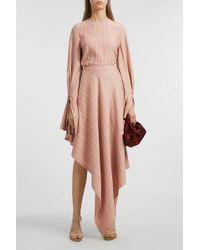 Sid Neigum Asymmetric Skirt - Multicolour