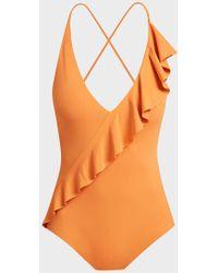 Marysia Swim Palisades Swimsuit - Orange