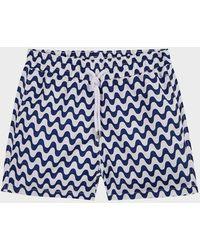 Frescobol Carioca Copacabana Large Swim Shorts - Blue