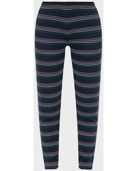 Wildfox Cheri Knox Striped Sweatpants - Blue